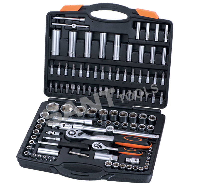 Item#121110    110pcs 1/4  1/2  Drive Socket Set